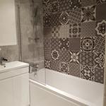 Vintage Patchwork Mix Tiles 25x25cm