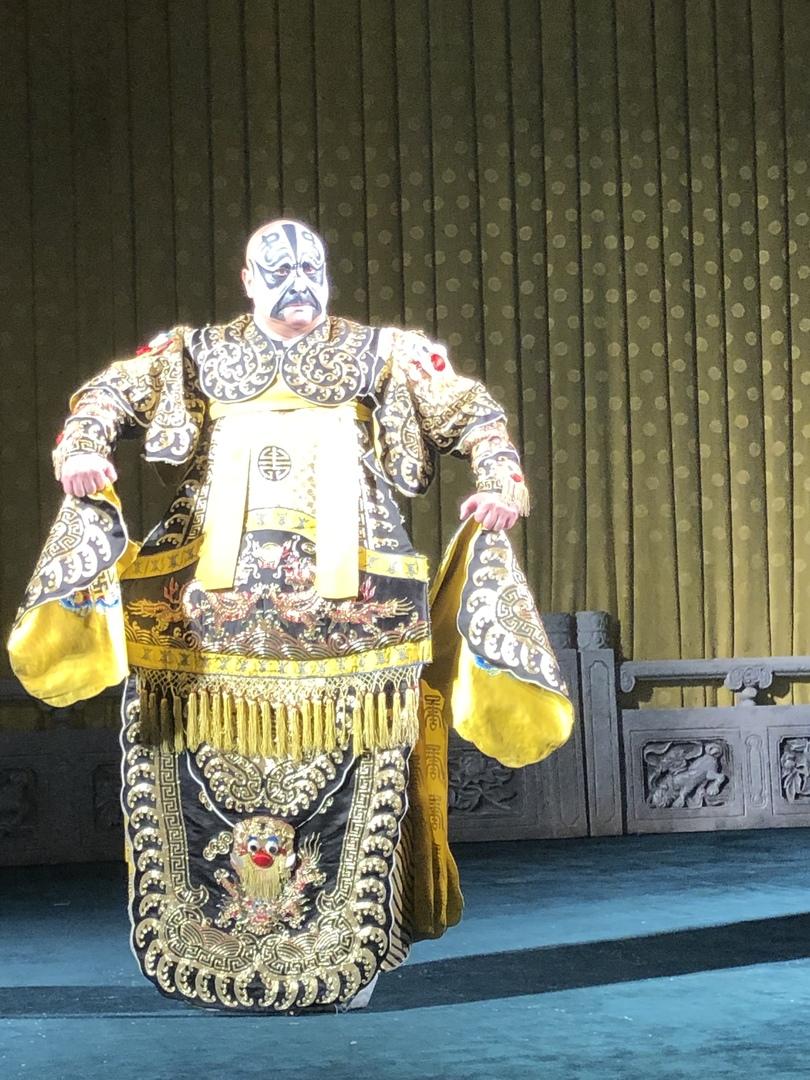 初めて京劇を生で観ました。素晴らしい身体能力、衣装、生演奏。独特の発声の歌も、異国情緒に溢れ大変良かったです。