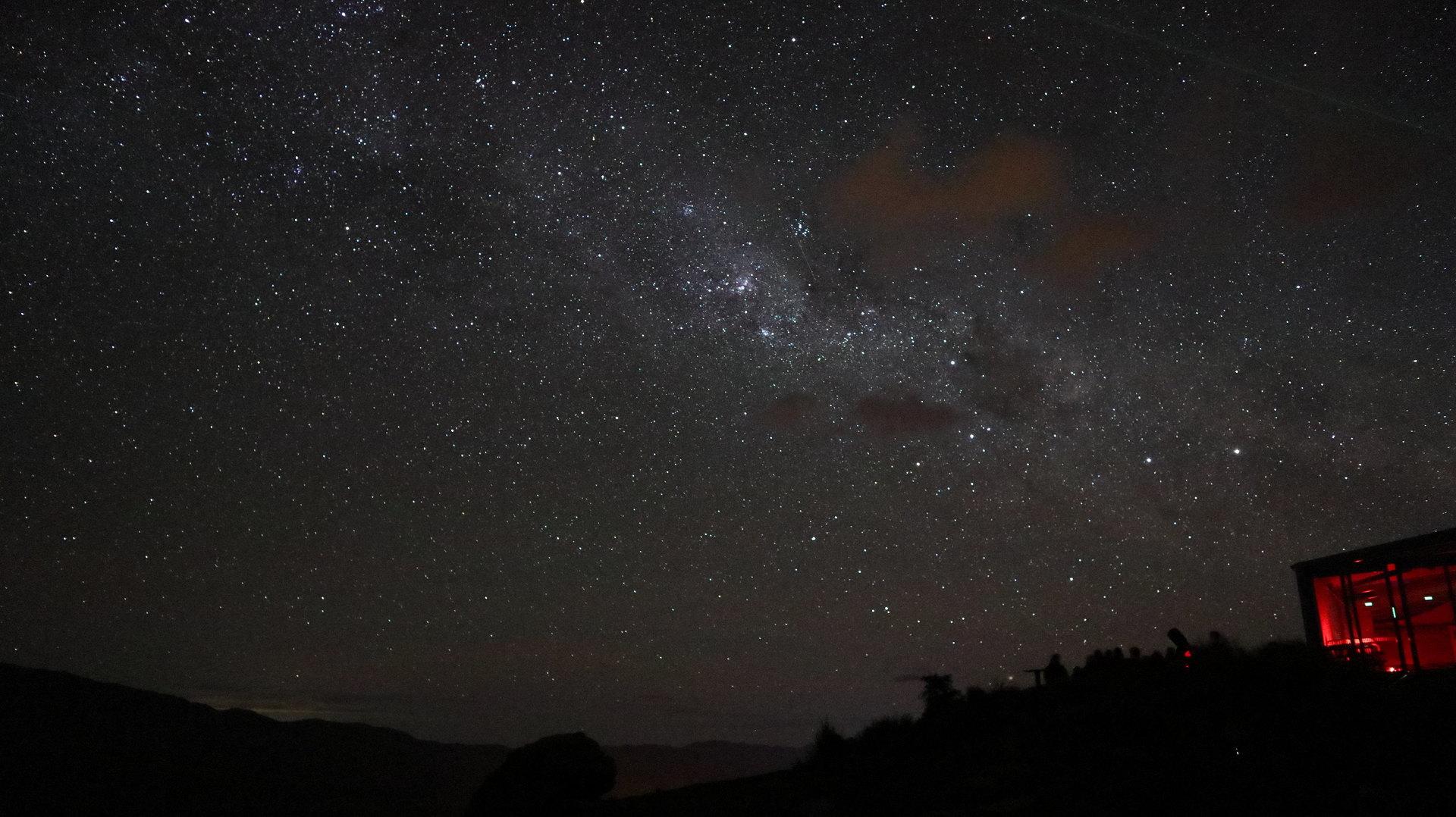 満天の星でスタッフの説明も分かり易くて最高でした!