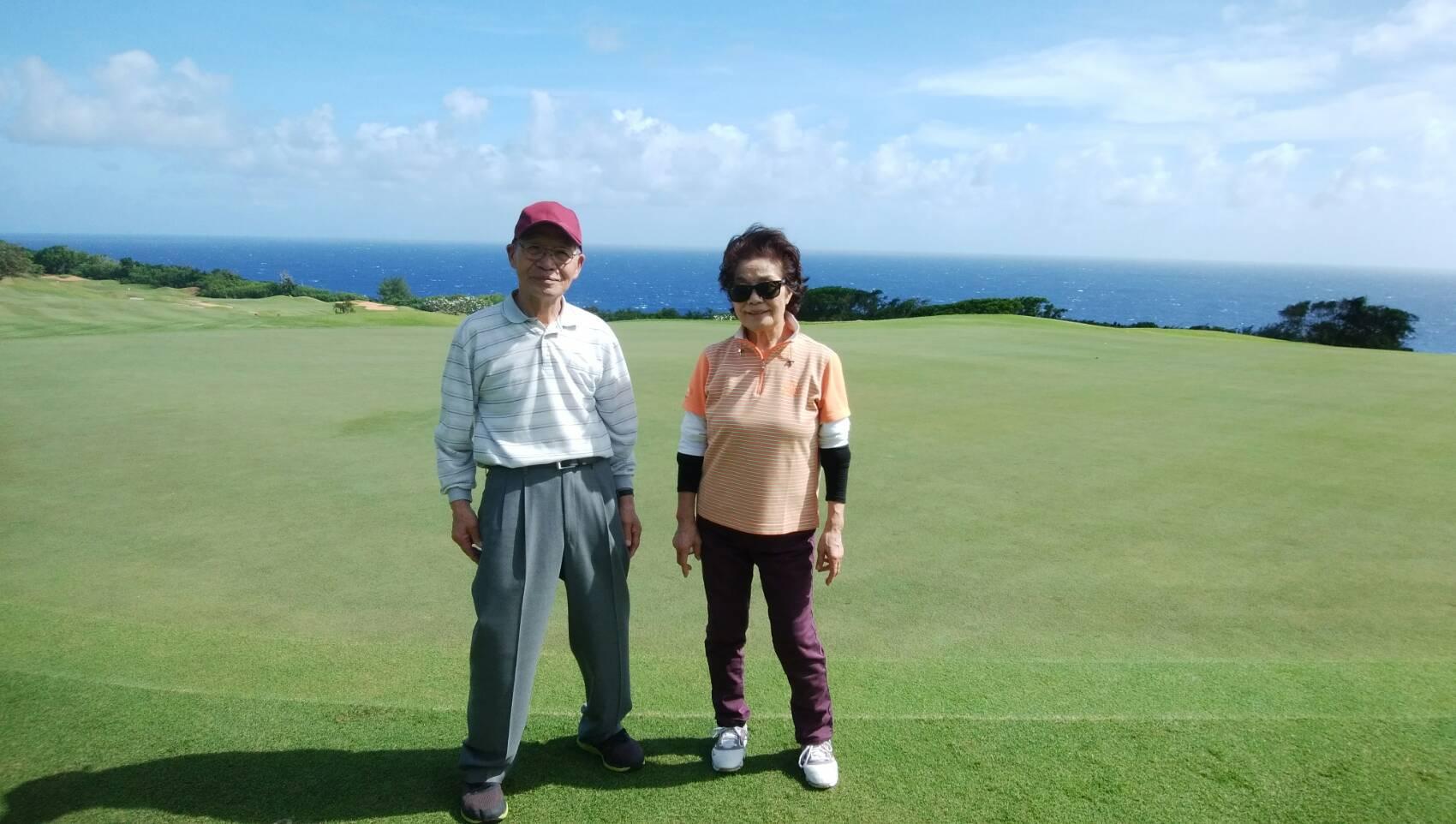 10年前 マンギラオでゴルフしてから もう一度来たいと思ってたので 念願がかないました。