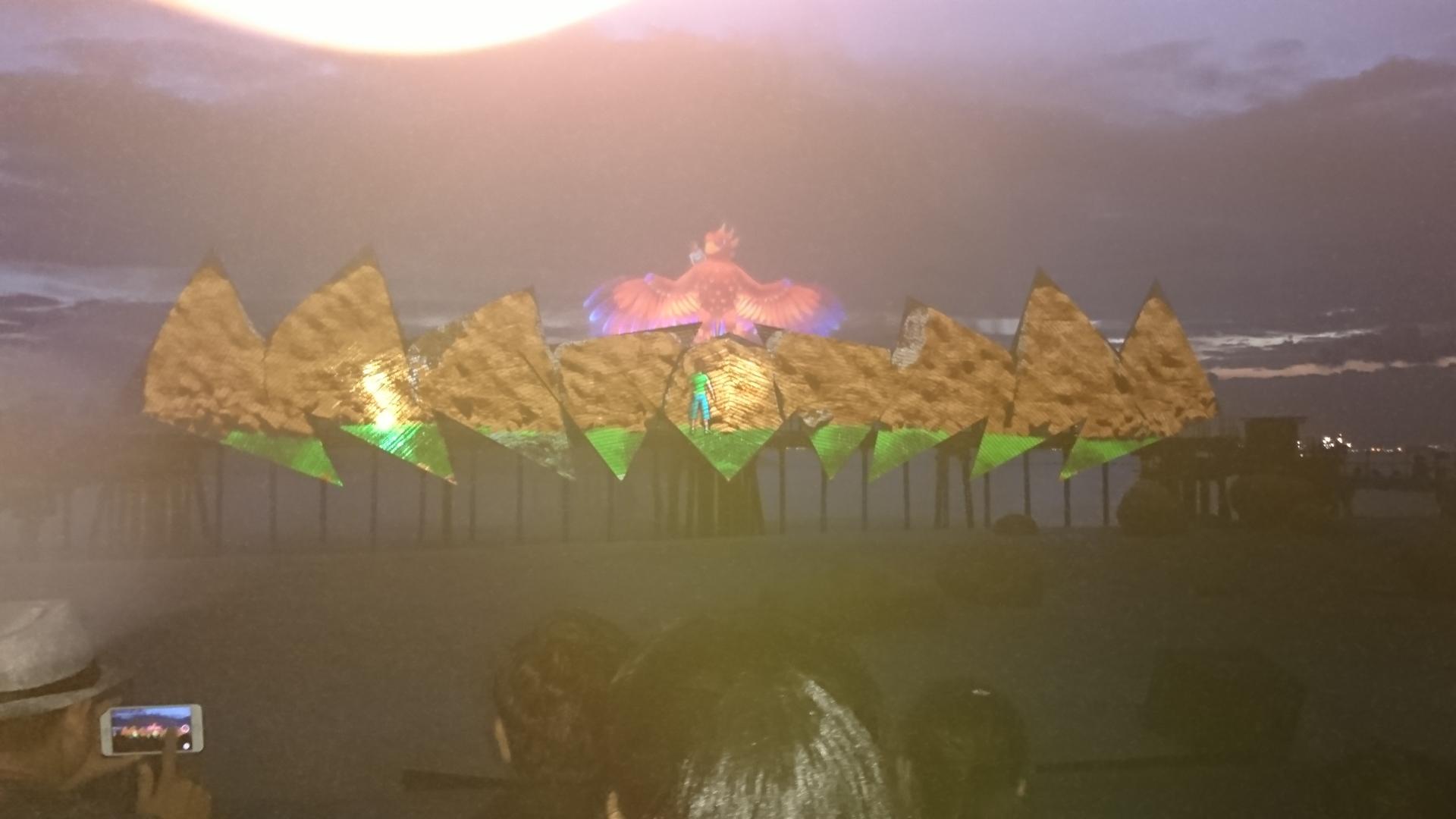 シーアクアリウムとマーライオンタワーからの景色綺麗でした。 ウイングスオブタイム、綺麗で迫力のあるショーを堪能しました。