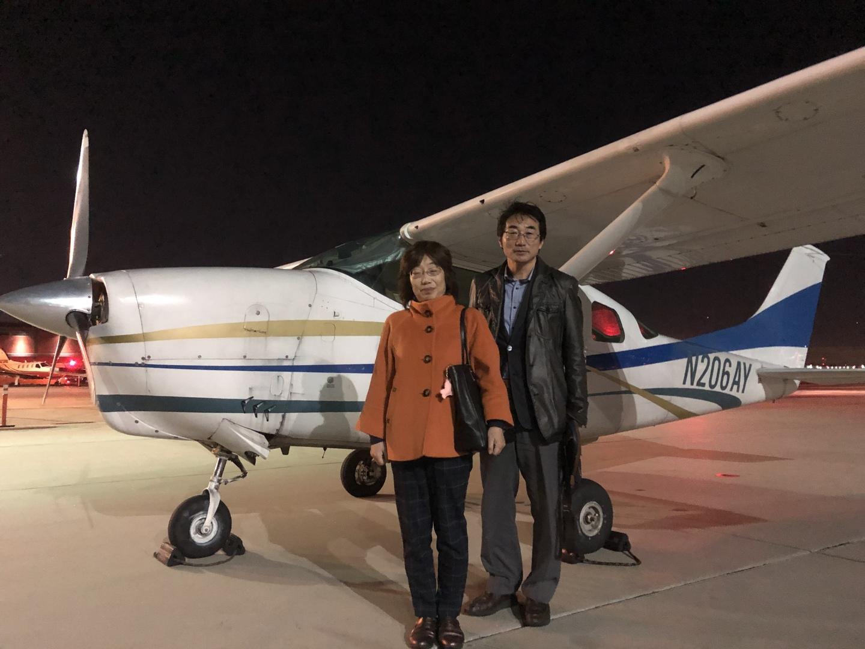 案内件機長の山口さんのサービスは最高でした。100%夫婦とも満足です。