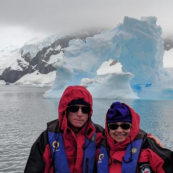 298a075428 Antarctica's White Wilderness Hugh and Sherry Antarctica