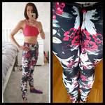 303f524934779 Lilly Blossom Yoga Leggings – Tikiboo