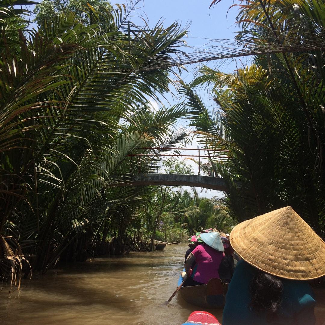 私は現在ホーチミンに住んでおり今回2回目の参加でした。 前回満足度が高かったので、今回日本から両親と姉家族総勢6名で来越するにあたりこちらのツアーにまた参加することにしました。 8時にホーチミンを出て効率良くメコンを周り美味しいベトナム料理を食べてから15時頃にホーチミンに戻って来られるのは短期滞在の旅行者にちょうど良くまた小学生低学年の姪たちにもちょうど良かったです。帰りのバスは昼食後ということもあり皆爆睡でした。 ホーチミンの喧騒とは違うベトナムを楽しめます!