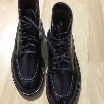 198904d082521 Alden Shoes Men s Indy Boot Shell Cordovan Antique Edge D6947C Color 8  Grail Boot and for