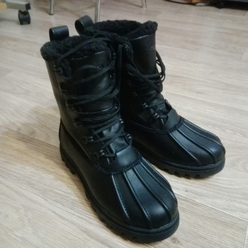 Great boots for Russian winter.