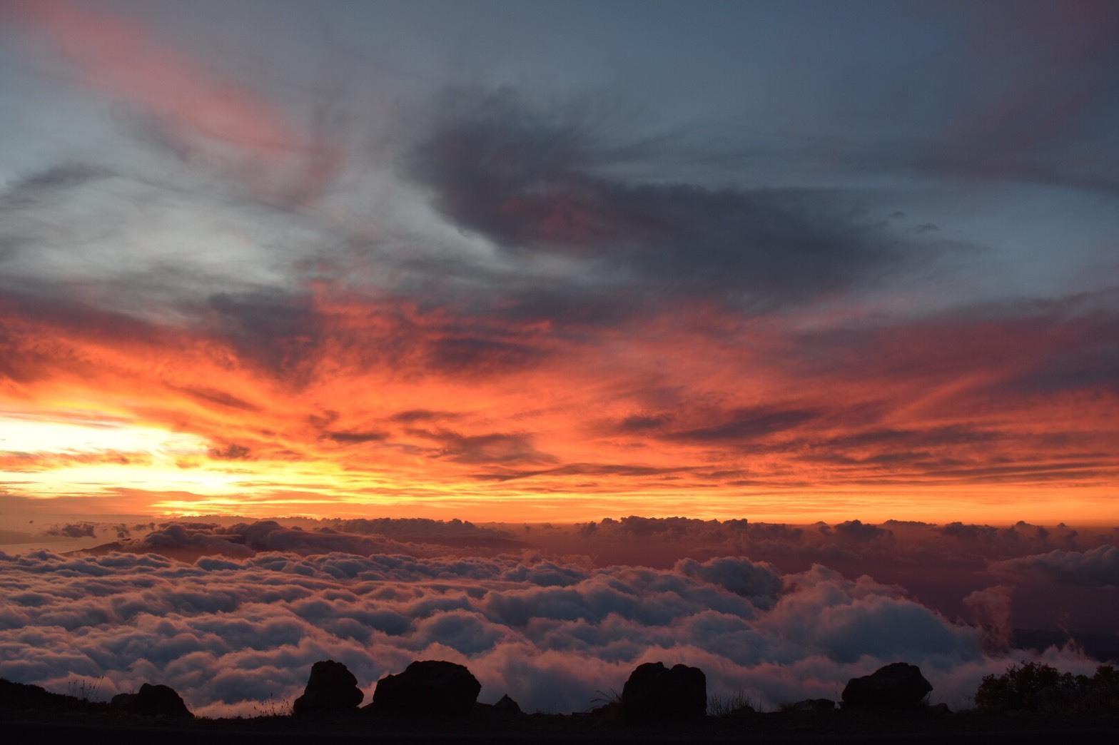 雲の上の世界、常夏のハワイとは思えない場所でした。 高山病の心配はありましたが、ガイドの方が親切で心配しなく大丈夫でした。素晴らしい体験でした。