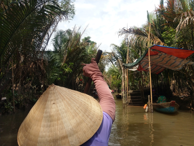 一人旅でとても行き着く自信がなかったので6月9日に参加しました。ガイドさんが丁寧にベトナムに関する色々な事を説明してくださいましたので為に為りました。