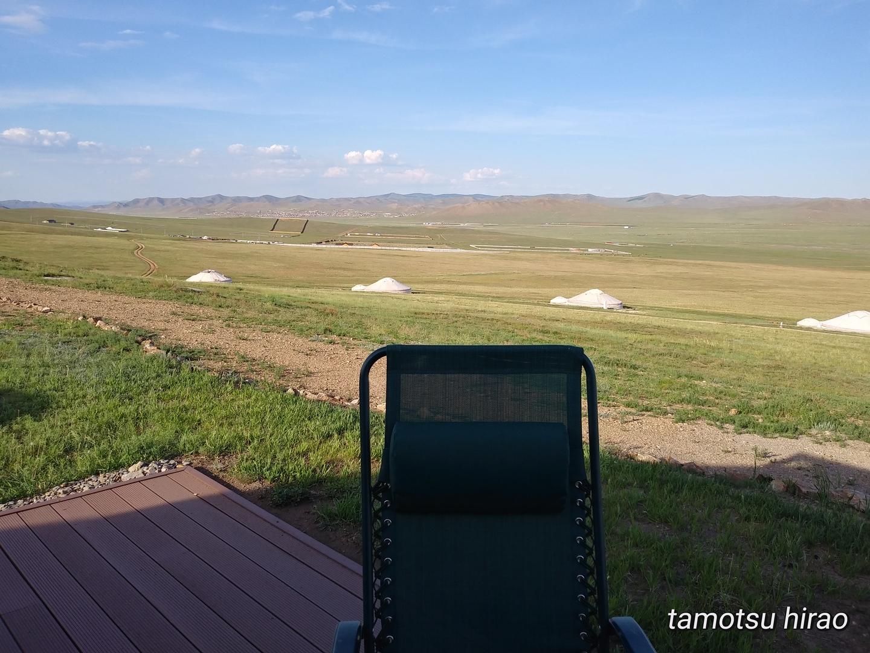 大草原と青い空に感動しました‼️