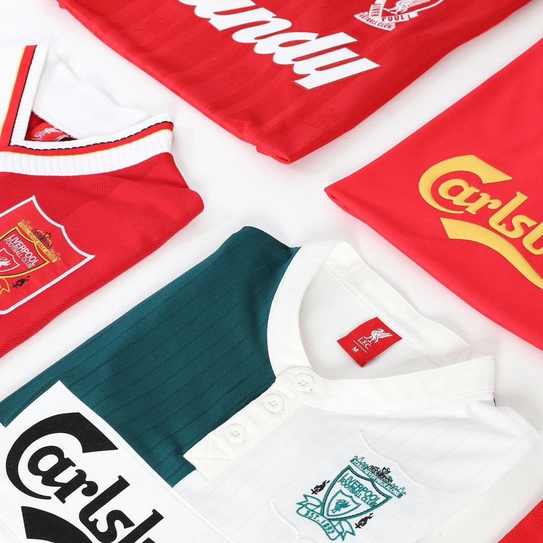 27ee2d5f1 Fancy a piece of  LFC history ! Our 95 96 away jersey has