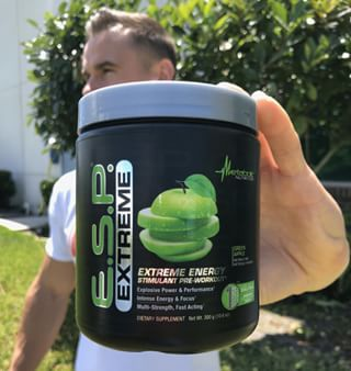 Green 🍏 E.S.P. Extreme for the WIN! 🤤 What's your favorite E.S.P. Extreme flavor?? _ E.S.P.® EXTREME is formulated to be the highest strength, energy Pre-Workout in the marketplace. Designed for individuals who require higher potency stimulants to maximize performance, energy, and increase strength training during workouts. #metabolicnutrition #unleashyoursuperhero 📲www.metabolicnutrition.com