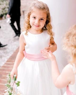 ff8da895cbc1 A beautiful Dessy Flowergirl. 📷 @jessimnichols . . . #DessyRealWeddings  #dessygroup #