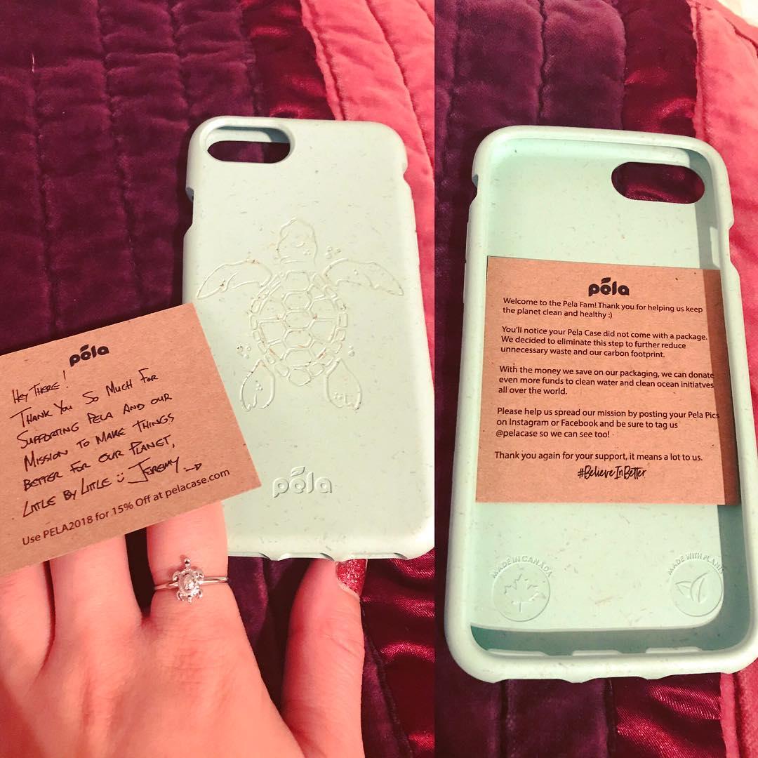 Ocean Turquoise Eco Friendly Iphone 7 Case Iphone Cover Pela Case