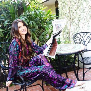 e9e9fbf5c8d Sunday s are made to lounge in sumptuous silk Natori PJs. This beautiful  vibrant  Nouveau