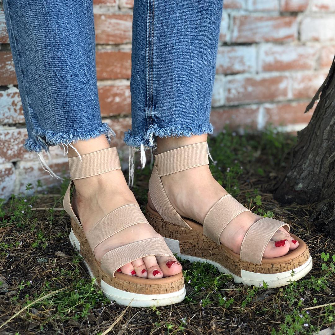 ddc57af63f4 These stevemadden sandals are on major repeat. They go with just about  everything. They
