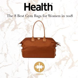 Going to the gym has never been so chic! The  jemmagirlnyc BIRDIE bag is 0e19bef63d