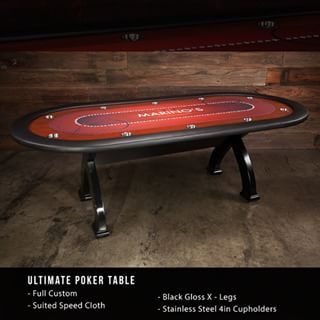 Donu0027t Forget How Versatile The Ultimate Poker Table Can Be! Wooden Legs Or
