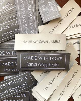 I Was Feeling A Little Left Out Without My Very Own Labels From Dutchlabelshop So When