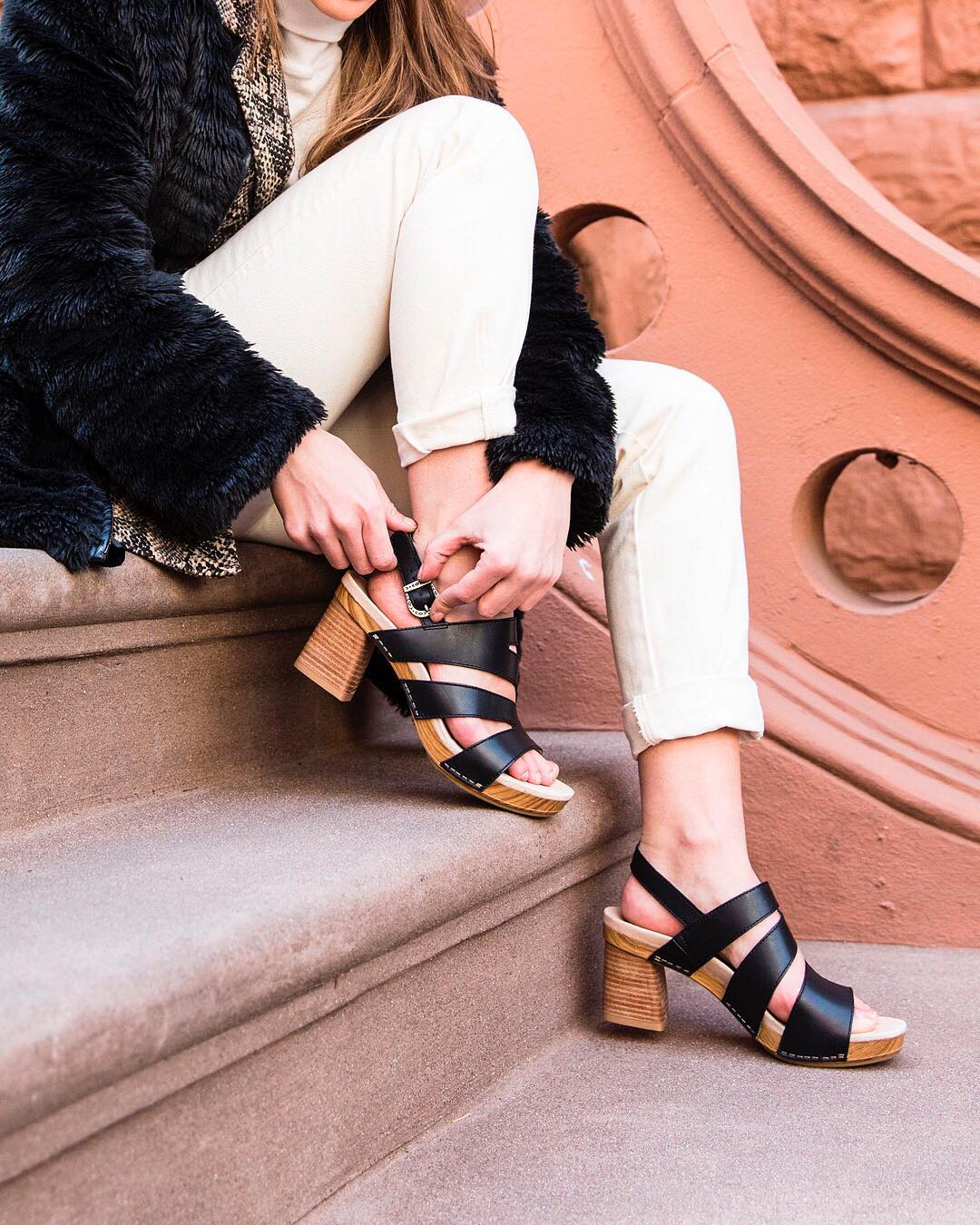 f92d74a6c874 The Ashlee sandal from Dansko is a versatile heel that pairs well with both  work attire