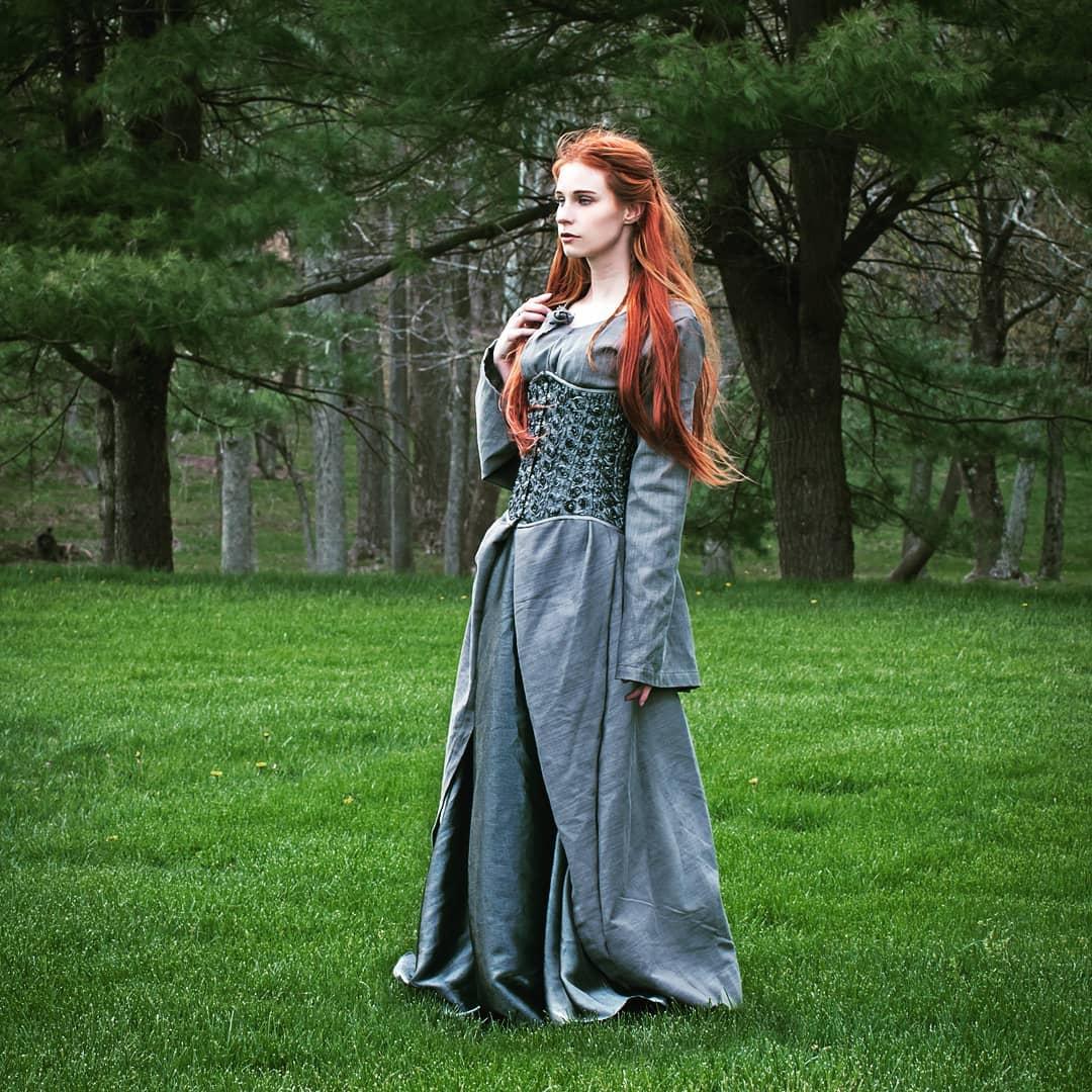 20b817c4838 Sansa s Winterfell inspired dress from Season 1 of Game