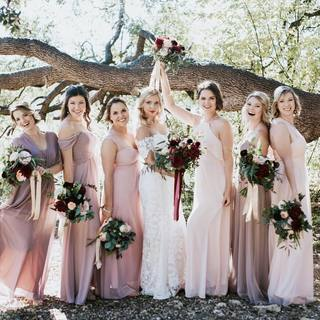 e09aeea6530 File under Spring  weddinginspo  Birdy bride  ser421 s perfect palette of.  Bridesmaids ...
