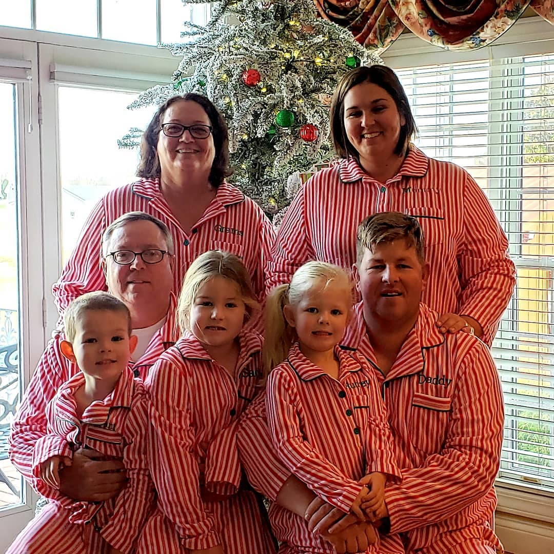 0145bb78ca Our Christmas morning tradition of matching pajamas continues.🎄  pajamagramcompany  ChristmasTraditions  lecows