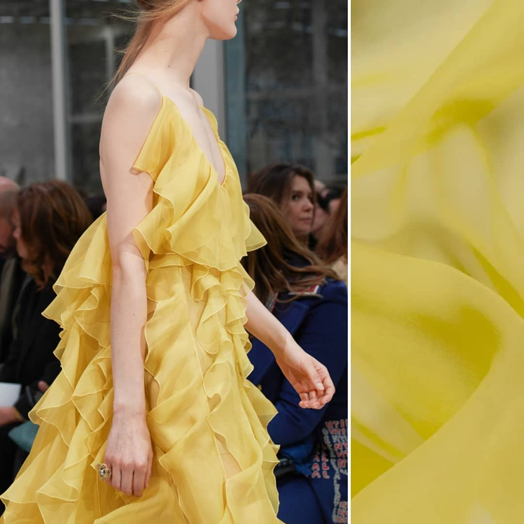 4c27d21155 What are you designing in buttercup  Get inspired by Valentino s newest  collection and try some