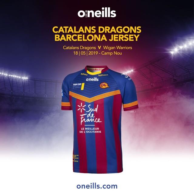 b395a23b18a @dragonsofficiel Vs Wigan Warriors 18.05.2019 | Barcelona | The Jersey |  oneills.