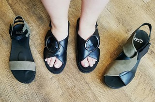 7bc6c6a44dbb Earth 🌏 Shoes! We can t believe how comfy and cute these sandals are