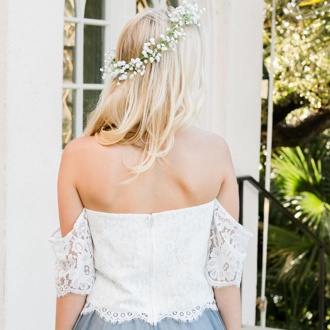5652dffd4 The most beautiful boho top we've ever created for the best bridesmaid  babes.