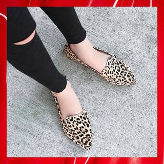 6d77aea028ca FEATHER-L features feline spots to make a timelessly stylish statement.