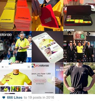 1e73c30a9  soccer  referee  uniform  proreferee  soccerref  . Thank you for following  us in 2016! We look forward to exciting things for soccer