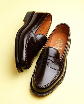 5ee99371f02 The most iconic penny loafers - Alden 986  8 shell cordovan penny loafers.  Available