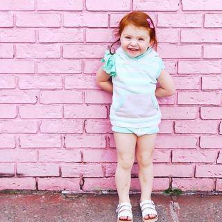 95b161fd7398 MINT GREEN Leotard with Flutter   Ruffle Short Sleeve for Toddler   Girls