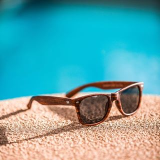 9c3744aede The perfect poolside pair  ShadyRays  LiveHard  sunglasses  shades   poolside photo by. Divine views. Classic - Amber Wood Polarized ...