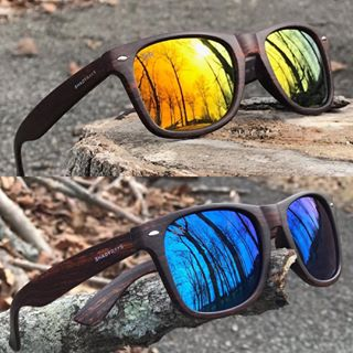 97e969ce6bd9 ... Polarized  ShadyRays  LiveHard  sunglasses  shades. The backwoods just  got brighter. Classic Golden Timber and Classic Ocean Timber now available