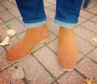 01cd4a42040c6d Suede Chelsea Boot by stevemadden is perfect for the season!  chelseaboots   stevemaddenshoes