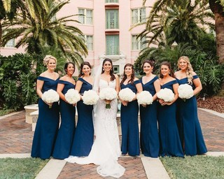 2beb4b923ee Beautiful bouquets and Dessy style 3012 in Sofia Blue. . Dessy has  partnered with Photography