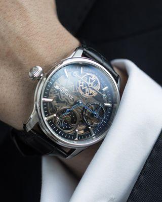 earnshaw  watch  watches. Sunday best — everyday. ⠀ ⠀  EarnshawMoment by   mathiaslefevre wearing the Longitude ( b7ef4734764d