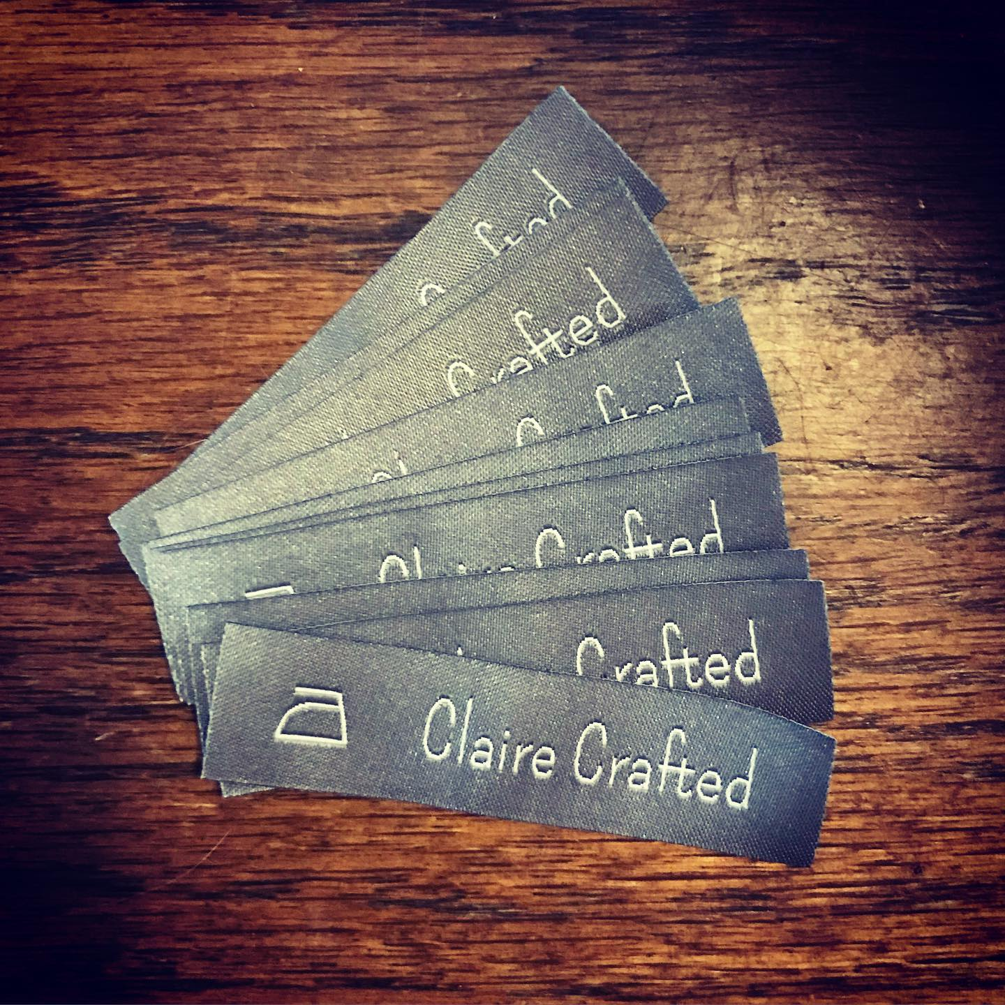 af30139acd37 Just came home to my new Claire Crafted labels from dutchlabelshop! Can't  wait