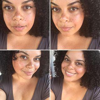 Nude makeup for black women