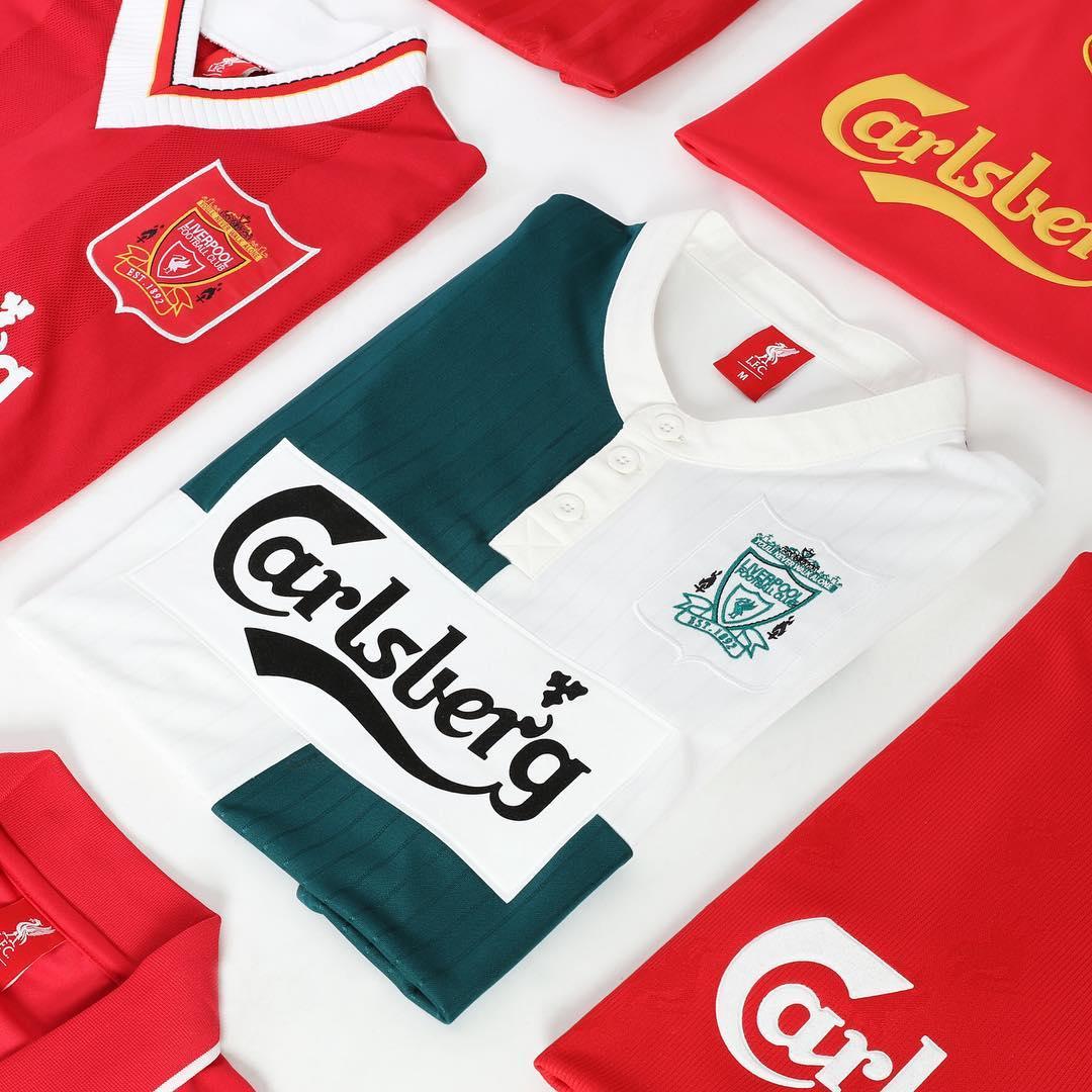 27b11ca66dd Fancy a piece of  LFC history ! Our 95 96 away jersey has