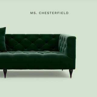 Ms. Chesterfield Is Our Lighter, Softer Take On The Classic Chesterfield  Sofa. We