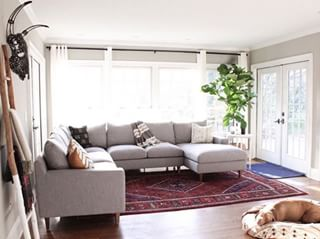 c0983062f86c Which seat would you pick on  rowdysranch  s Sloan corner sectional  (We